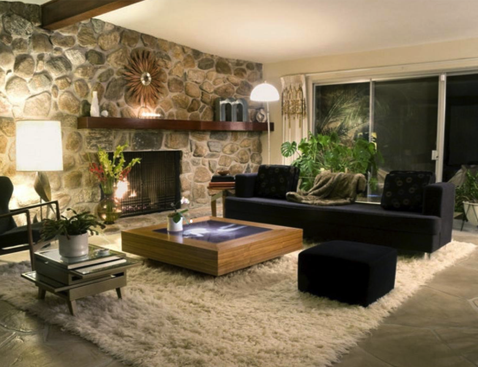 Chimeneas modernas good with chimeneas modernas elegant - Salones con chimeneas modernas ...