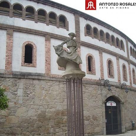 Torero plaza de toros de Pontevedra